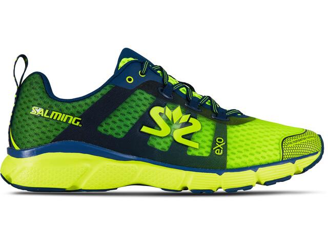 Salming enRoute 2 Buty do biegania Mężczyźni żółty/niebieski